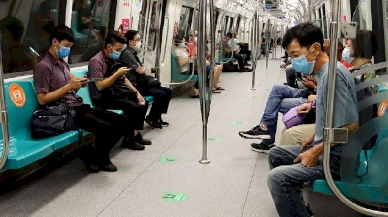 Когда в Сингапуре, как казалось, взяли вирус под контроль, там вновь начался рост числа зараженных Фото: Getty Images